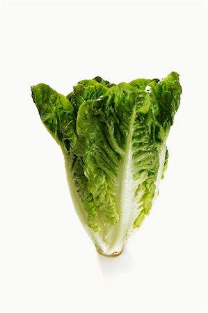 A mini cos lettuce Stock Photo - Premium Royalty-Free, Code: 659-06187345