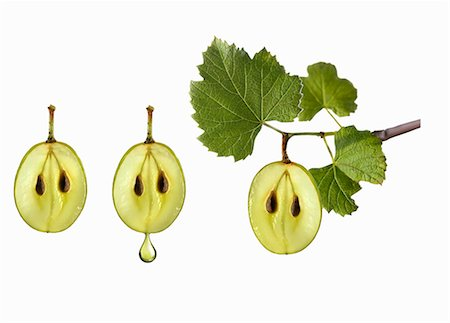 Symbol for grape seed oil Stock Photo - Premium Royalty-Free, Code: 659-06188100