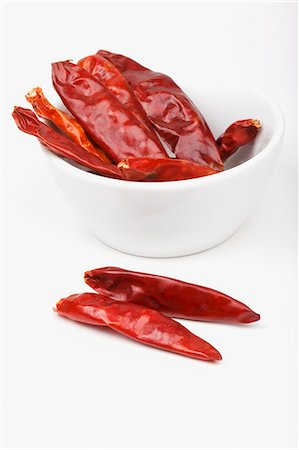 paprika - Dried chilli peppers Stock Photo - Premium Royalty-Free, Code: 659-06307109