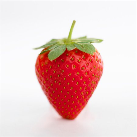 strawberries - A strawberry Stock Photo - Premium Royalty-Free, Code: 659-06372463