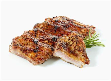 rib - Marinated spare ribs Stock Photo - Premium Royalty-Free, Code: 659-06372574