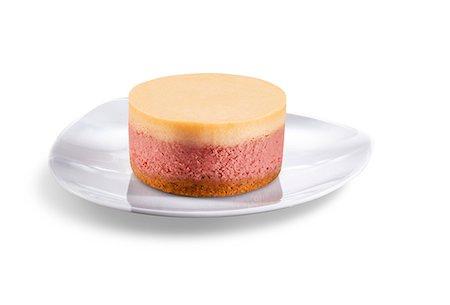 sweet   no people - Individual Raspberry Mousse Dessert Stock Photo - Premium Royalty-Free, Code: 659-06494109
