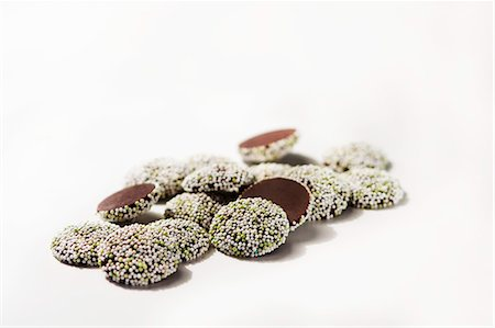 Mint Nonpareils Stock Photo - Premium Royalty-Free, Code: 659-06494115