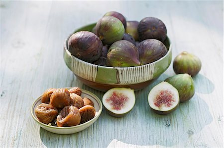 dry - Figs, fresh and dried Stock Photo - Premium Royalty-Free, Code: 659-06494887