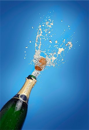 A splash of champagne Stock Photo - Premium Royalty-Free, Code: 659-06495547