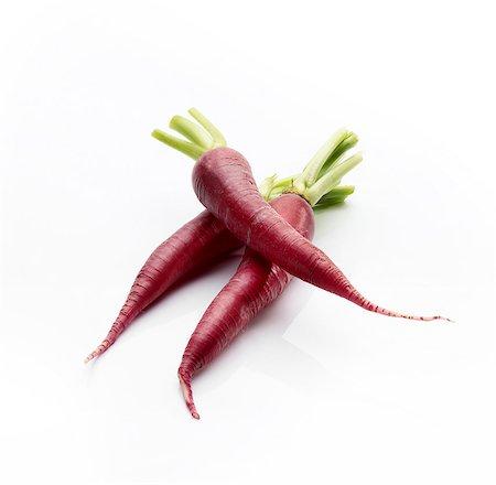 purple - Three purple carrots (Purple Haze) Stock Photo - Premium Royalty-Free, Code: 659-06671328
