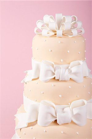 decoration - Wedding cake Stock Photo - Premium Royalty-Free, Code: 659-06900841