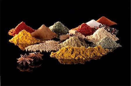 Various spices Stock Photo - Premium Royalty-Free, Code: 659-06902095