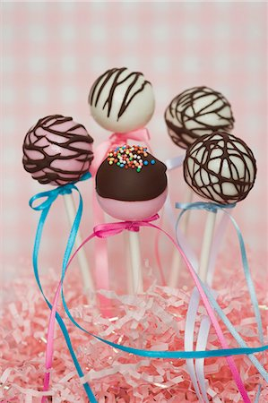 Cake pops for a party Stock Photo - Premium Royalty-Free, Code: 659-06902206