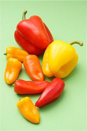 small - Still life with peppers Stock Photo - Premium Royalty-Free, Code: 659-06902236