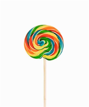 spiral - A coloured lollipop Stock Photo - Premium Royalty-Free, Code: 659-06903054