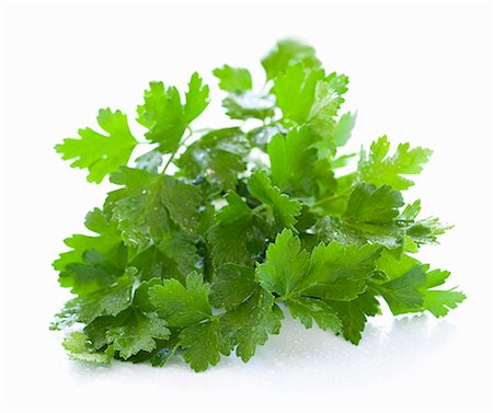 fresh - A bunch of parsley (no background) Stock Photo - Premium Royalty-Free, Code: 659-06903927