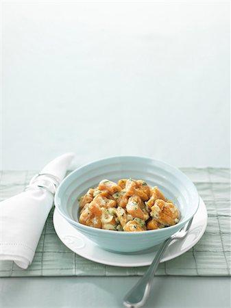 spicy - Potato gnocchi with Stilton sauce Stock Photo - Premium Royalty-Free, Code: 659-07027851