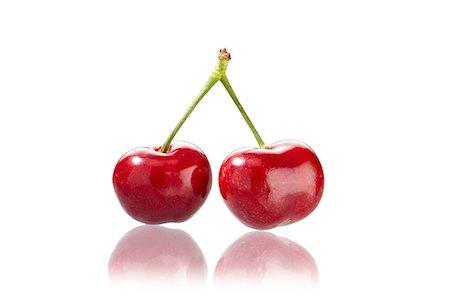 pair - A pair of cherries Stock Photo - Premium Royalty-Free, Code: 659-07028127