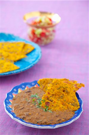 punjabi - Dal makhani (lentil soup, India) Stock Photo - Premium Royalty-Free, Code: 659-07069131