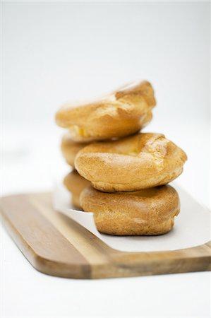 puff - Stacked cream puffs Stock Photo - Premium Royalty-Free, Code: 659-07069232