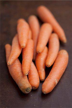 Several carrots Stock Photo - Premium Royalty-Free, Code: 659-07069535