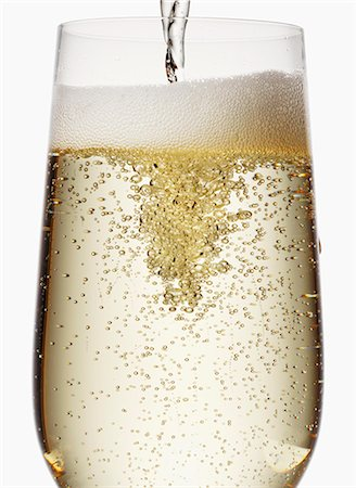 sparkling - Pouring sparkling wine Stock Photo - Premium Royalty-Free, Code: 659-07598454