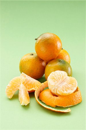 Still life with mandarines Stock Photo - Premium Royalty-Free, Code: 659-07598494