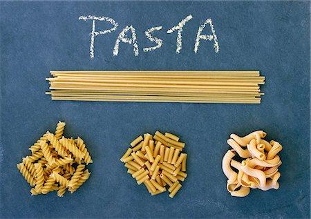 slate - Various types of pasta Stock Photo - Premium Royalty-Free, Code: 659-07739057