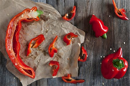 paprika - Pointed red peppers Stock Photo - Premium Royalty-Free, Code: 659-07959108