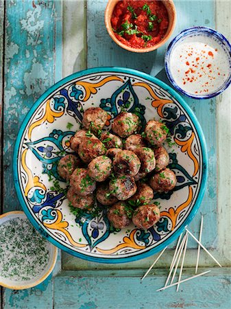 Albondigas (meatballs, Spain) Stock Photo - Premium Royalty-Free, Code: 659-08147652