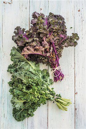 Green and purple Kale 1 Stock Photo - Premium Royalty-Free, Code: 659-08420363