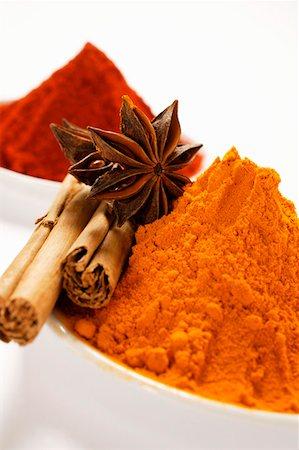 paprika - Various spices Stock Photo - Premium Royalty-Free, Code: 659-01843895