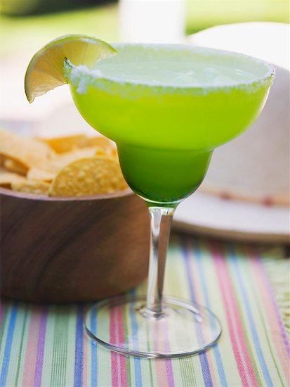 Lime cocktail Stock Photo - Premium Royalty-Free, Image code: 659-01854091