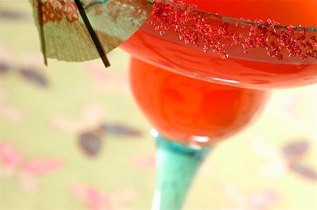 Watermelon Margarita with lime Stock Photo - Premium Royalty-Free, Code: 659-01856484