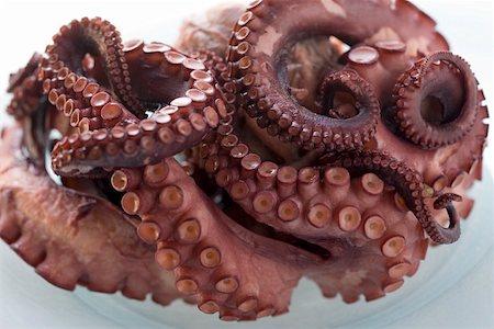 smoked - Smoked octopus Stock Photo - Premium Royalty-Free, Code: 659-01857189