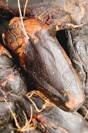 smoked - Smoked venison ham Stock Photo - Premium Royalty-Free, Code: 659-01862319
