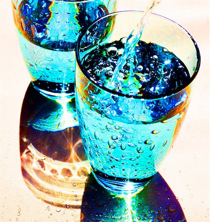 effect - Pouring water into glass Stock Photo - Premium Royalty-Free, Code: 659-03530997