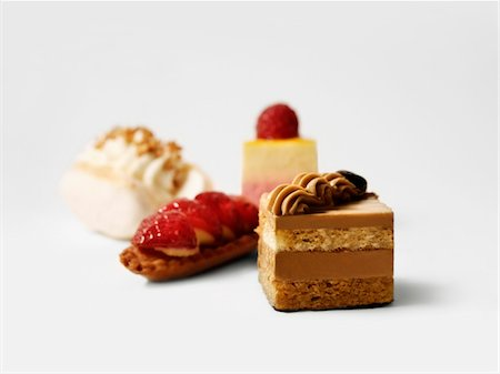 dessert - Selection of sweet delicacies Stock Photo - Premium Royalty-Free, Code: 652-05808572