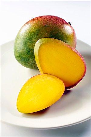 Mangoes Stock Photo - Premium Royalty-Free, Code: 652-07655937