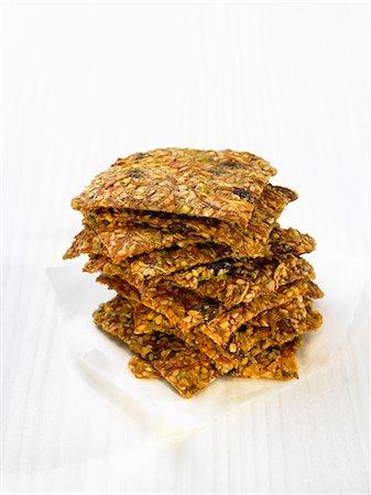 snack - Seedy crackers Stock Photo - Premium Royalty-Free, Code: 652-07656116