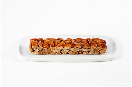 Turron with almonds and caramel Stock Photo - Premium Royalty-Free, Code: 652-07656230