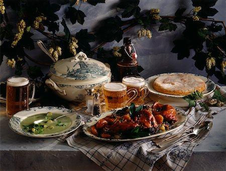 Belgian menu Stock Photo - Premium Royalty-Free, Code: 652-02221166