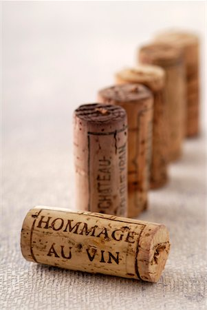 "Corks,""Hommage au vin"" Stock Photo - Premium Royalty-Free, Code: 652-02222304"