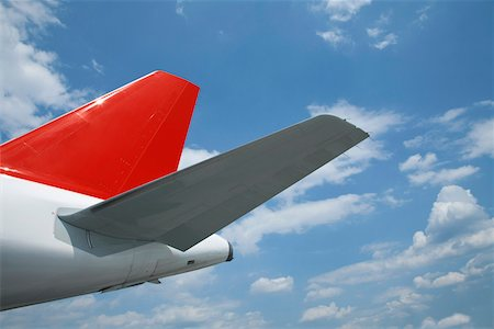 Detail of an airplane Stock Photo - Premium Royalty-Free, Code: 653-05393127
