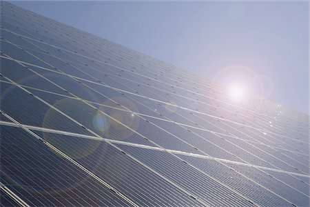 Detail of solar panels Stock Photo - Premium Royalty-Free, Code: 653-05975871