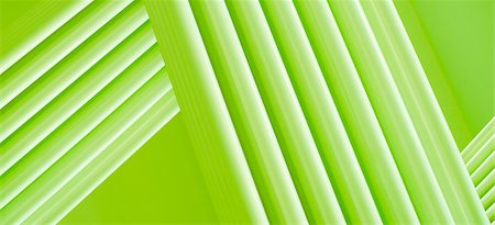 repeating - Full frame abstract of intersecting three dimensional green lines Stock Photo - Premium Royalty-Free, Code: 653-05976166