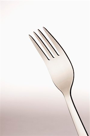 fork - A single fork Stock Photo - Premium Royalty-Free, Code: 653-06534316