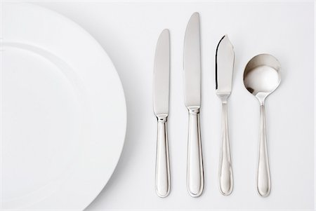 fork - Table setting Stock Photo - Premium Royalty-Free, Code: 653-06534980
