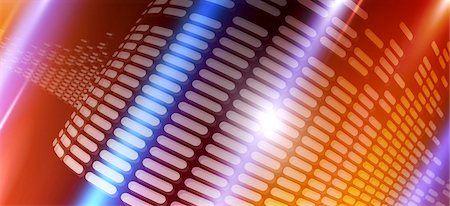 Rows of dashes on a curved surface Stock Photo - Premium Royalty-Free, Code: 653-06819525