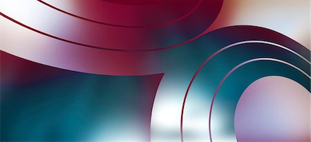 Concentric swirl shapes, close up Stock Photo - Premium Royalty-Free, Code: 653-06819529