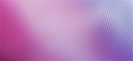 A wave pattern of shiny dots on a colored background Stock Photo - Premium Royalty-Free, Code: 653-06819533