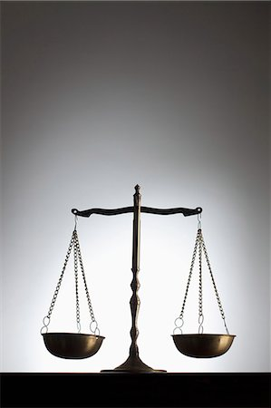 Scales of justice Stock Photo - Premium Royalty-Free, Code: 653-07233819