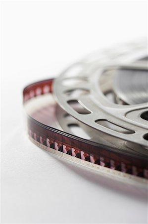 film strip - Film reel Stock Photo - Premium Royalty-Free, Code: 653-07233827
