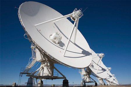 radio telescope - National Radio Astronomy Observatory (Socorro) Stock Photo - Premium Royalty-Free, Code: 653-01656286
